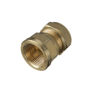 Compression Female Coupler 22mm x 0.75in