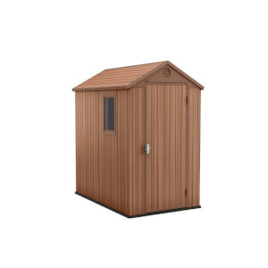 Keter Darwin Outdoor Garden Shed 4x6ft