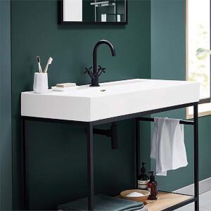 Bathstore Noir Veneto 1000mm Basin