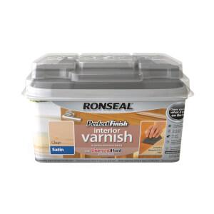 Ronseal Perfect Finish Interior Varnish - Clear Satin 750ml