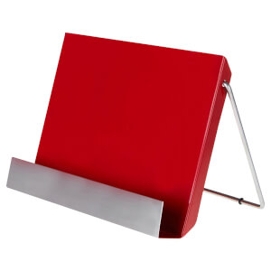Recipe Stand - Red Enamel