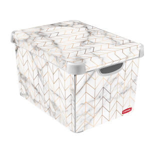 Curver Marble Deco Box