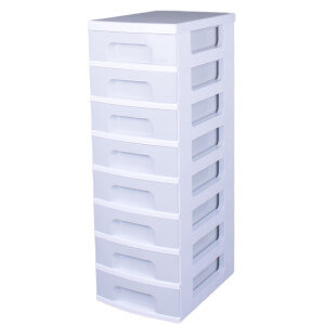 Really Useful 8 Drawer Tower - Grey (8x7L)