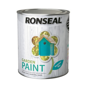 Ronseal Garden Paint - Summer Sky 750ml