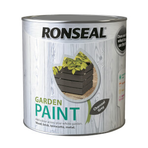 Ronseal Garden Paint - Charcoal Grey 2.5L