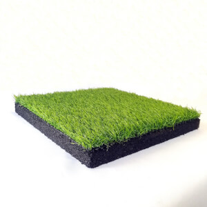 Rubber Tile with Grass 300mm