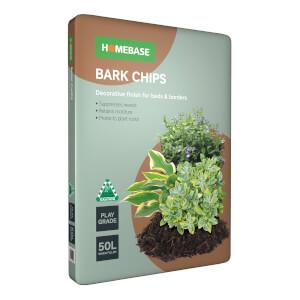 Homebase Bark Chips 50L
