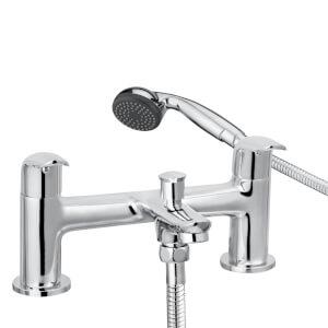 Arch Bath Shower Mixer - Chrome