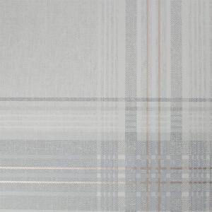 Superfresco Rhea Plaid Grey Rose Gold Wallpaper