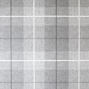 Arthouse Country Tartan Textured Charcoal Wallpaper