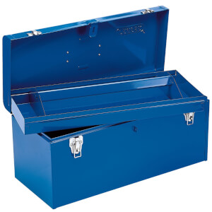 Draper 490mm Tool Box with Tote Tray