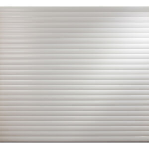 White Insulated Electric Roller Garage Door for 2400 to 2449mm (Width)