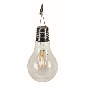 Vintage Solar Lightbulb