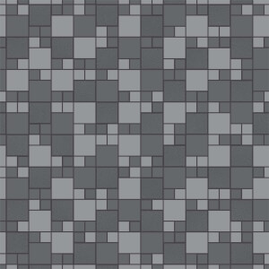 Holden Decor Trivola Tile Embossed Metallic Glitter Charcoal Wallpaper