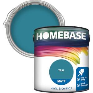 Homebase Matt Paint - Teal 2.5L