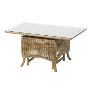 Seville Woven Adjustable Coffee Table