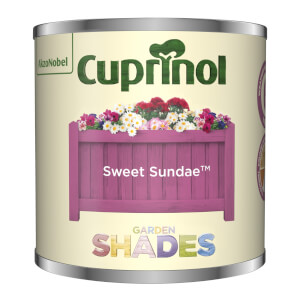 Cuprinol Garden Shades Tester - Sweet Sundae - 125ml