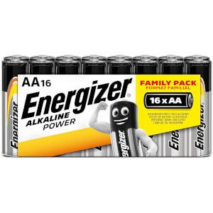 Energizer Alkaline Power AA Batteries - 16 Pack