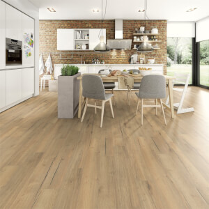 EGGER HOME Aqua+ Waterproof 8mm Laminate Flooring - Natural Creston Oak