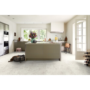 EGGER HOME Aqua+ Waterproof Triestino Terrazzo 8mm Laminate Flooring