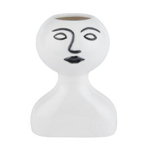 Tallulah Motif Face Vase