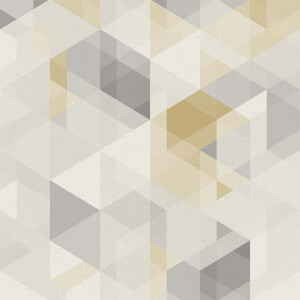 Grandeco  Ivar Yellow Wallpaper