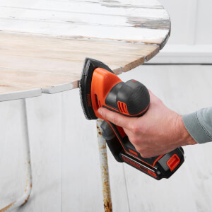 BLACK+DECKER 18V Cordless Detail Mouse Sander (BDCDS18-GB)
