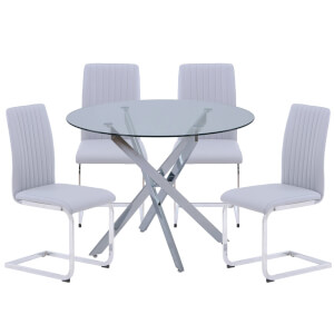 Sloane 4 Seater Dining Set
