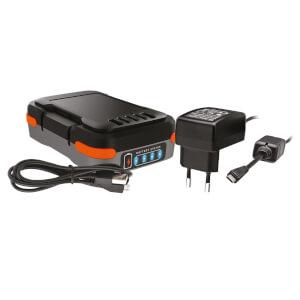 BLACK+DECKER 12V 1.5AH USB Battery with charging cable (BDCB12B-XJ)