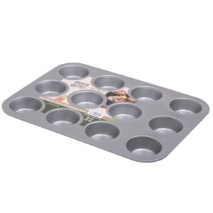 12 Cup Muffin Tin 0.6 Gauge