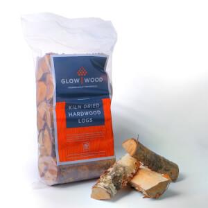 Glow Wood Hardwood Kiln Dried Fuel Logs - Large 14kg Bag