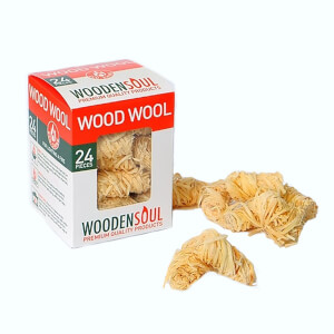 Woodensoul Wood Wool Firelighter Fuel