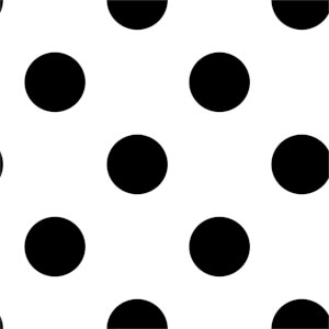 Superfresco Easy Dotty Black Wallpaper