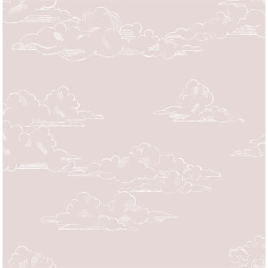 Superfresco Easy Vintage Cloud Pink Wallpaper