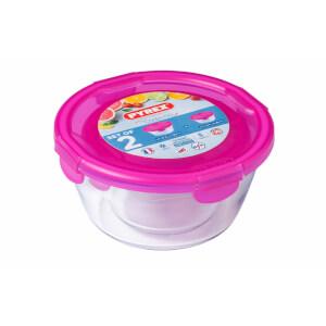 Pyrex Cook & Go 2 Piece Food Storage Set - Pink