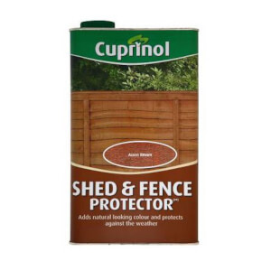 Cuprinol Shed and Fence Protector - Acorn Brown - 5L