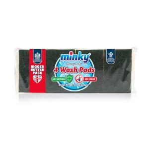 Anti Bac H D Wash Pad 4pk
