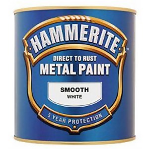 Hammerite Blue - Exterior Smooth Metal Paint - 250ml