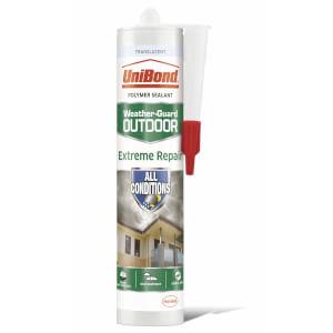 UniBond Outdoor Sealant Extreme Repair Cartridge Translucent 294g
