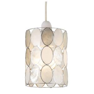 Capiz Natural Dots Lamp Shade