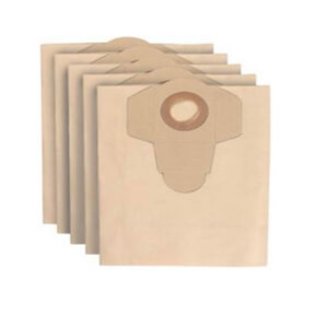 Ozito by Einhell 20L Replacement Vacuum Bags - 5 Pack