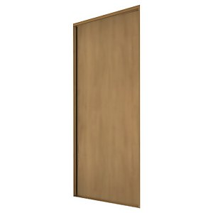 Classic Sliding Wardrobe Door Oak Panel Oak Frame (W)762mm