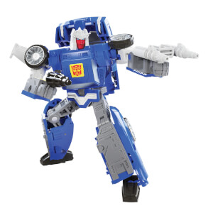 Hasbro Transformers Generations War for Cybertron: Kingdom Deluxe WFC-K26 Autobot Tracks Action Figure