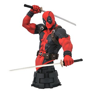 Diamond Select Marvel Comic X-Men Deadpool Bust