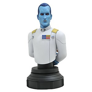 Gentle Giant Star Wars Rebels Thrawn Bust
