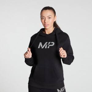 MP Women's Gradient Line Graphic Hoodie - Black