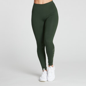 MP Women's Gradient Line Graphic Legging - Dark Green