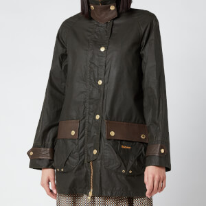 Barbour X Alexa Chung Women's Winslet Wax Jacket - Archive Olive/Classic
