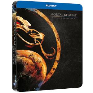 Mortal Kombat - Collection Steelbook des 2 Films en Blu-Ray - Exclusivité Zavvi