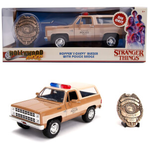 Jada Toys Stranger Things 1980 Chevy K5 Blaze 1:24